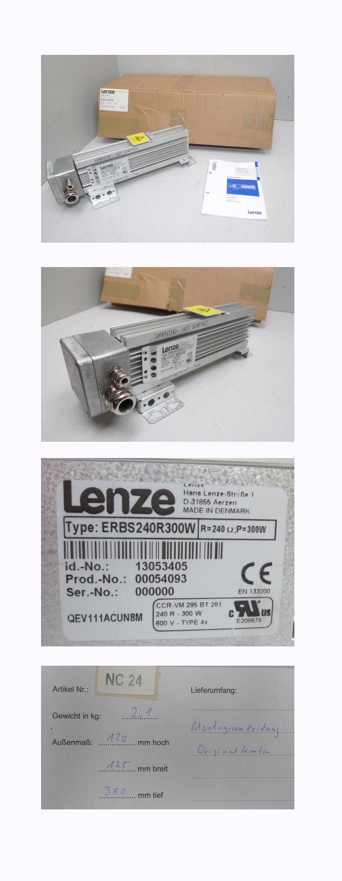 Lenze ERBS240R300W