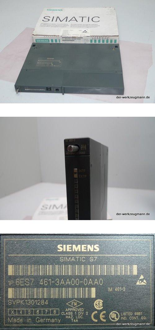 Siemens 6ES7 461-3AA00-0AA0