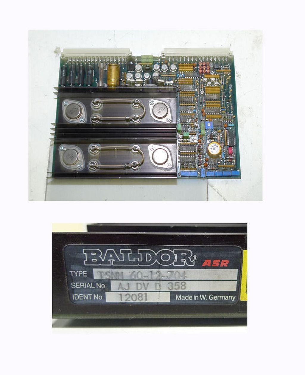 Baldor ASR TSNM 60-12-704