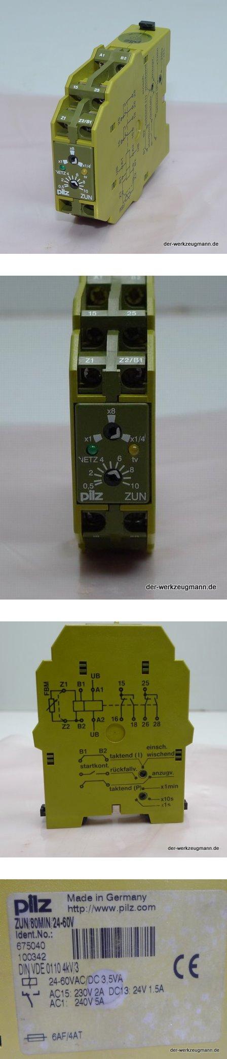 Pilz ZUN/80min/24-60V 675040 Sicherheitsrelais