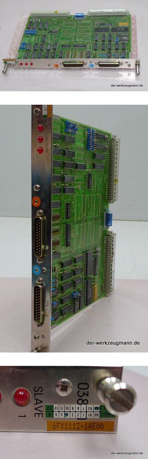 Siemens 6FX1112-1AE00 SIROTEC MASTER SLAVE
