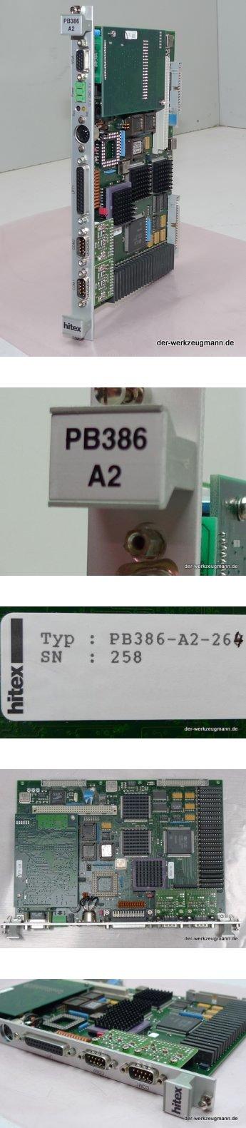 AEG hitex PB386-A2-264 SN:258 CPU 386