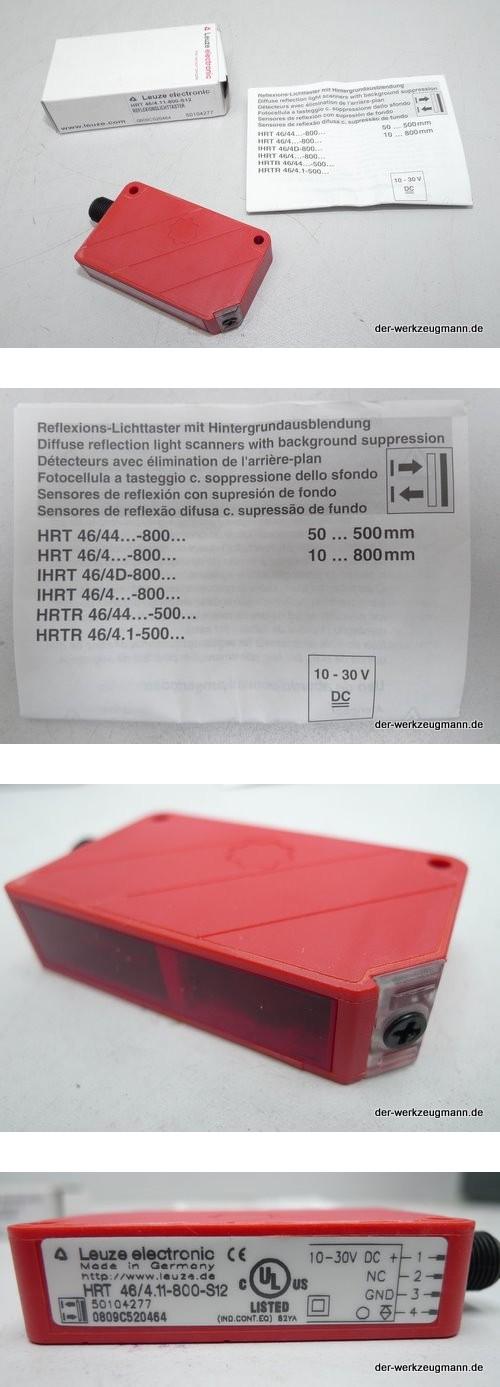 Leuze Lichttaster HRT 46/4.11-800 50104277