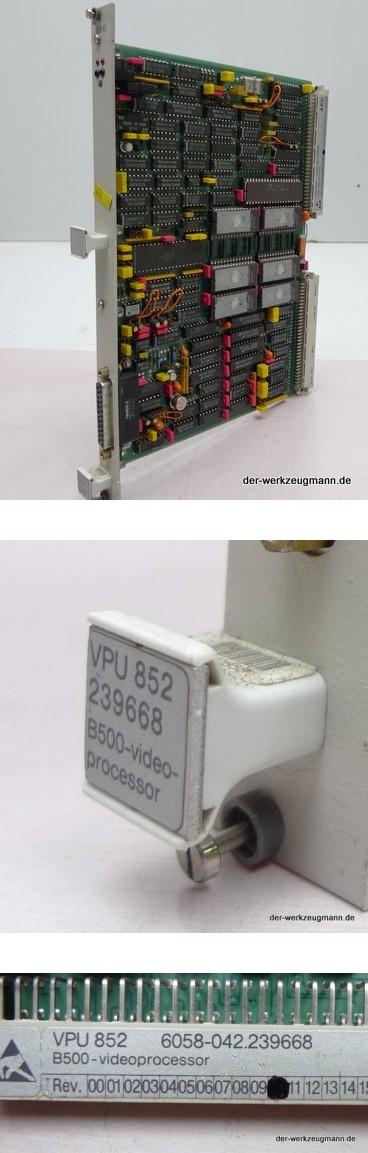 AEG SPS Modul VPU 852 6058-042.239668 B500 Videopc