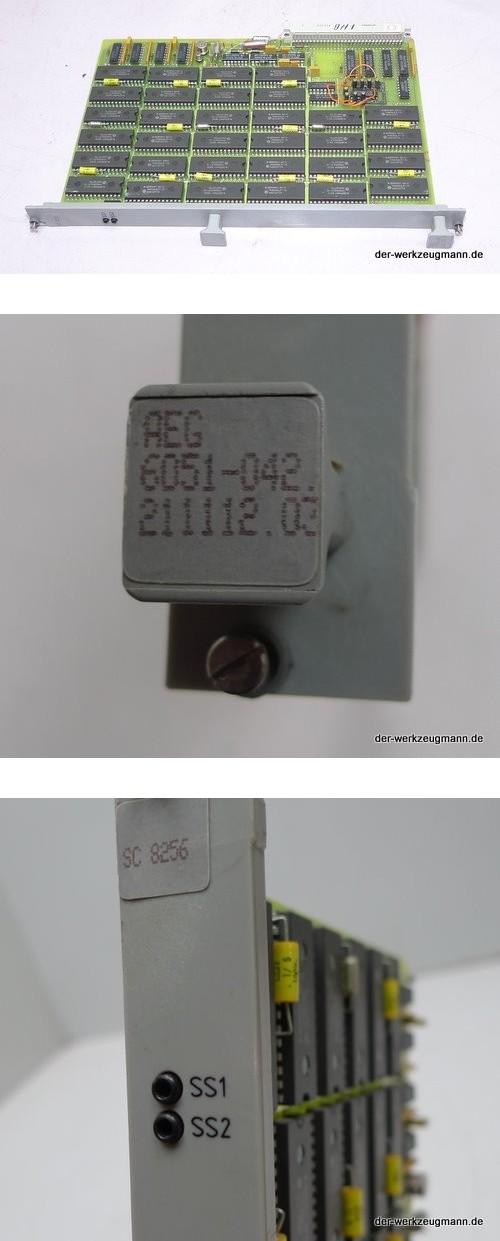 AEG SPS Modul SC 8256 6051-042.211112 Speicher