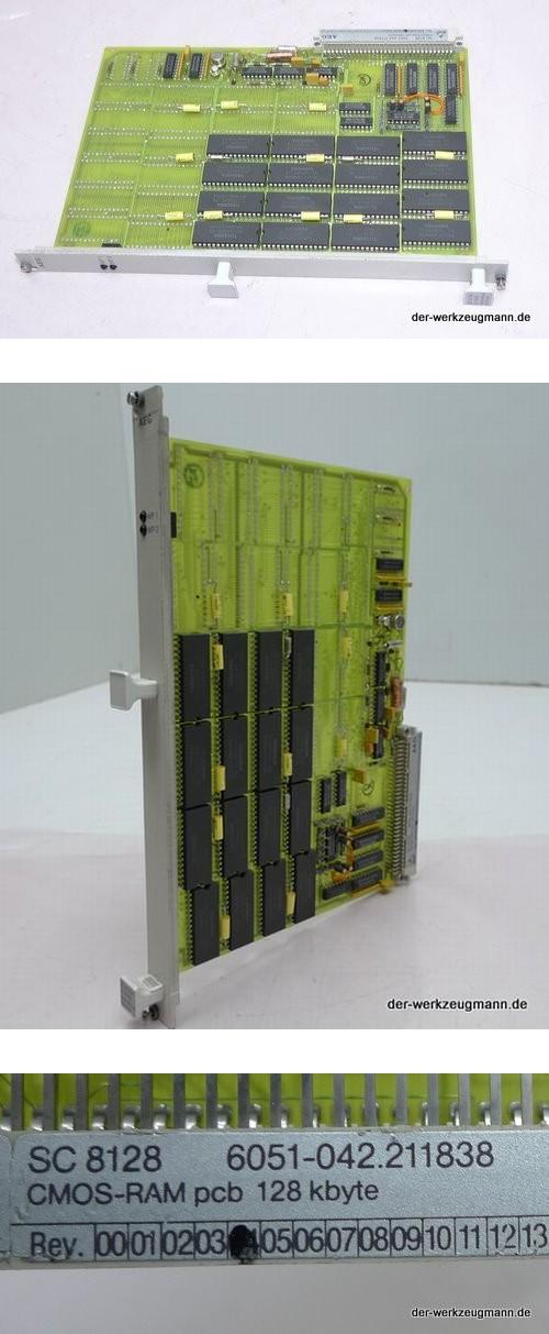 AEG SPS Modul SC 8128 6051-042.211838 CMOS-RAM