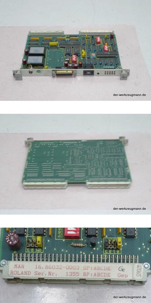 MAN Roland GPI 16.86032-0003