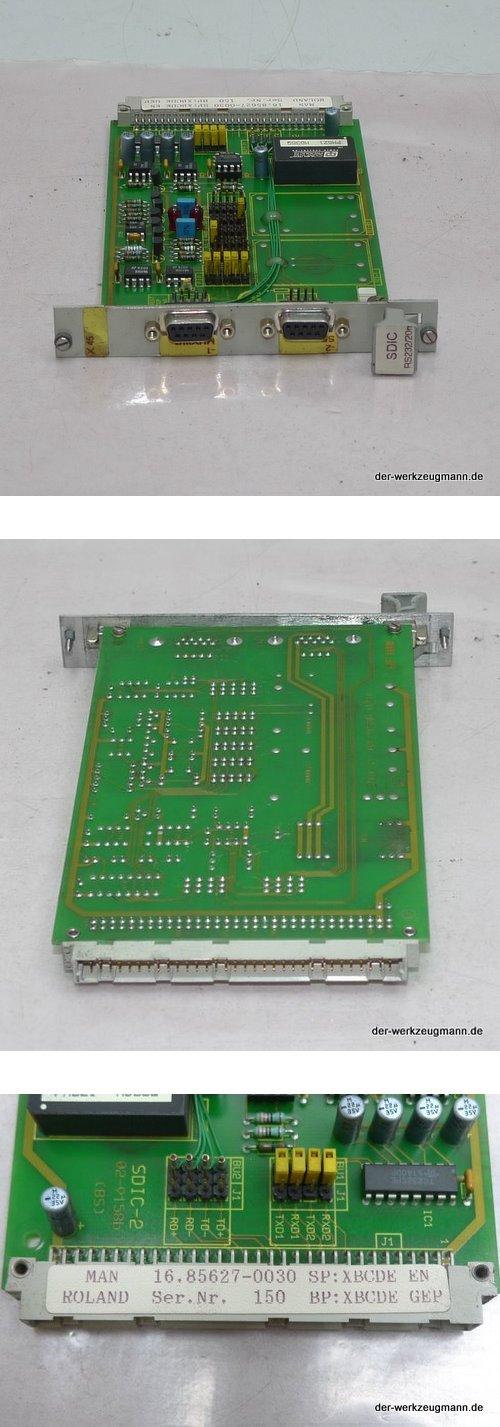 MAN Roland SDIC RS232/20m Einbaukarte 16.85627-0030 ManRoland