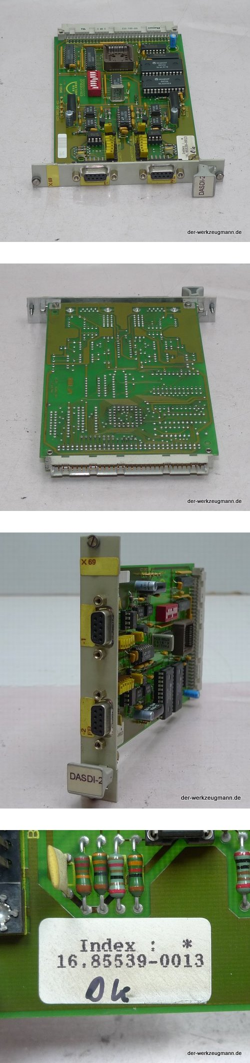 MAN Roland DASDI-2 Einbaukarte 16.85539-0013 ManRoland