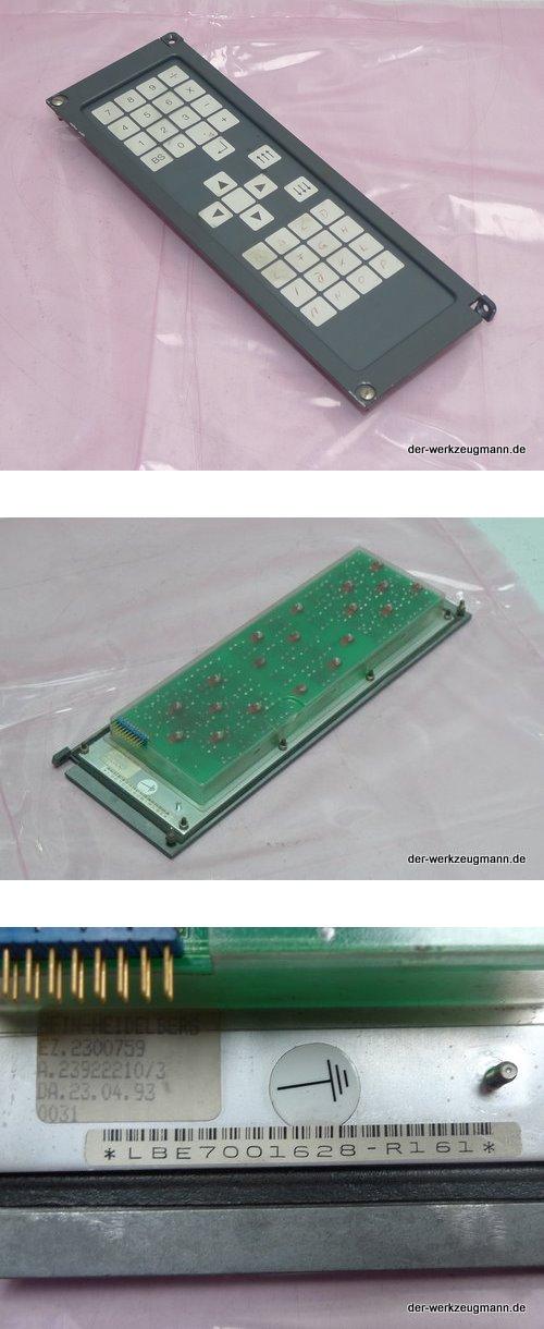 Siemens Sicomp PC 32-C Bedienfeld LBE7001628-R161