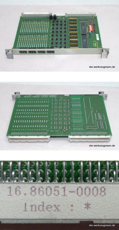 FORCE MAN Roland PO-232 Einbaukarte 16.86051-0008 ManRoland