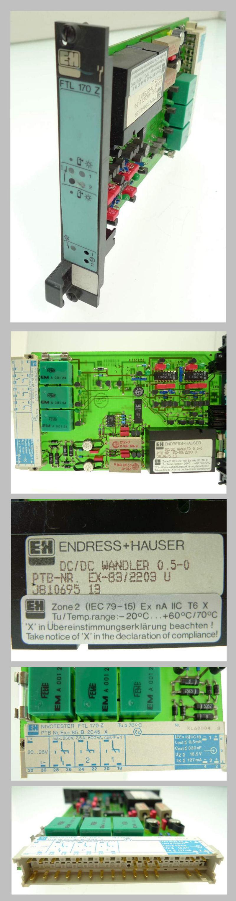 Endress Hauser FTL 170