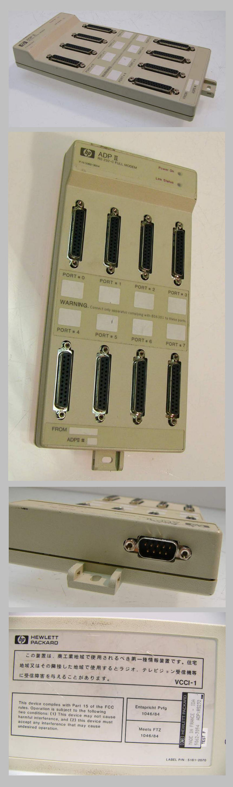 HP ADP II RS 232-C Adapter 5062-3054
