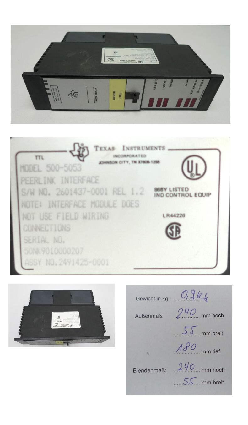 Texas Instruments 500-5053 5005053 Peerlink