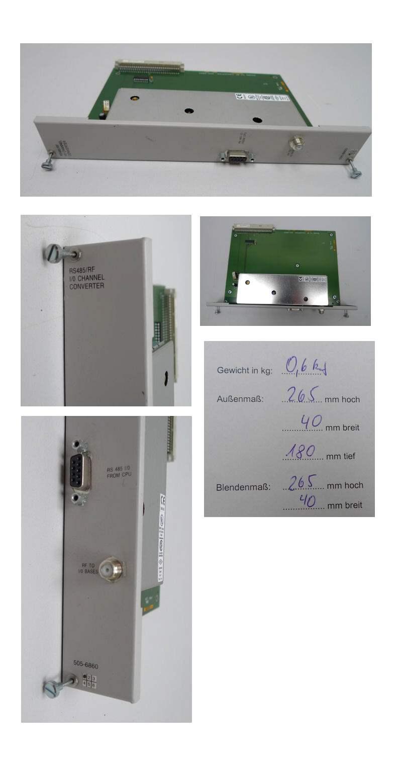 Siemens Texas Instruments 505-6860 5056860 Convert