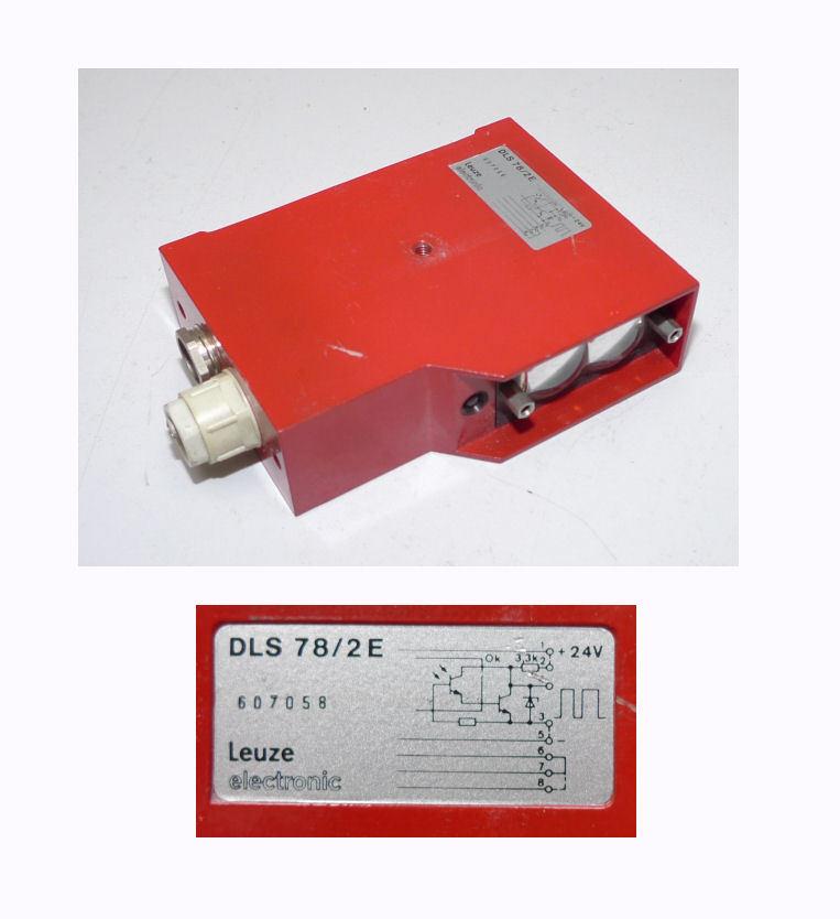 Leuze Lichtschranke DLS 78/2E dls78 dls78/2e
