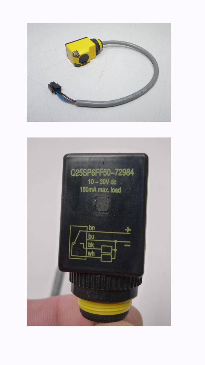 Banner Q25SP6FF50-72984 Reflexlichtschranke Dual