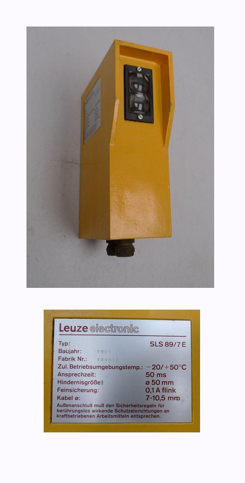 Leuze SLS 89/7 E sls89 104019 Lichtschranke