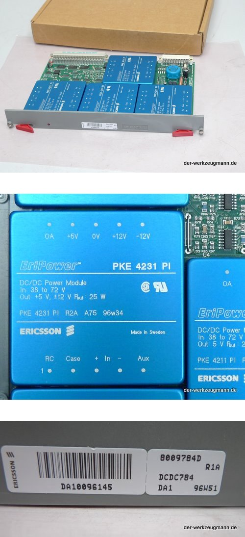 Ericsson Einbaukarte 8009784D R1A DCDC784 DA1 96W5