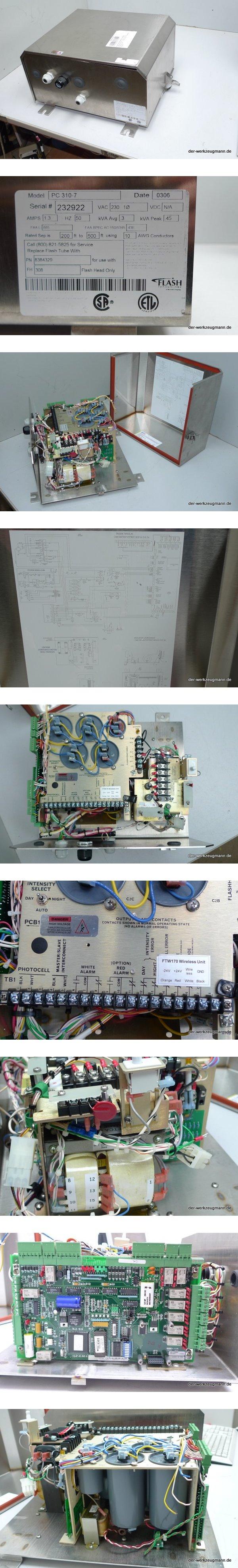 Flash FTW170 Medium Intensity Obstruction Lighting PC 310-7