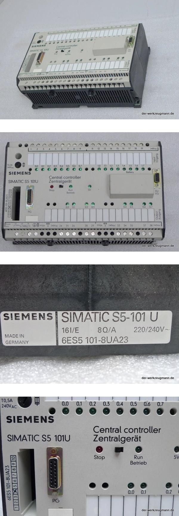 Siemens SPS Simatic S5 6ES5101-8UA23 6ES5 101-8UA23