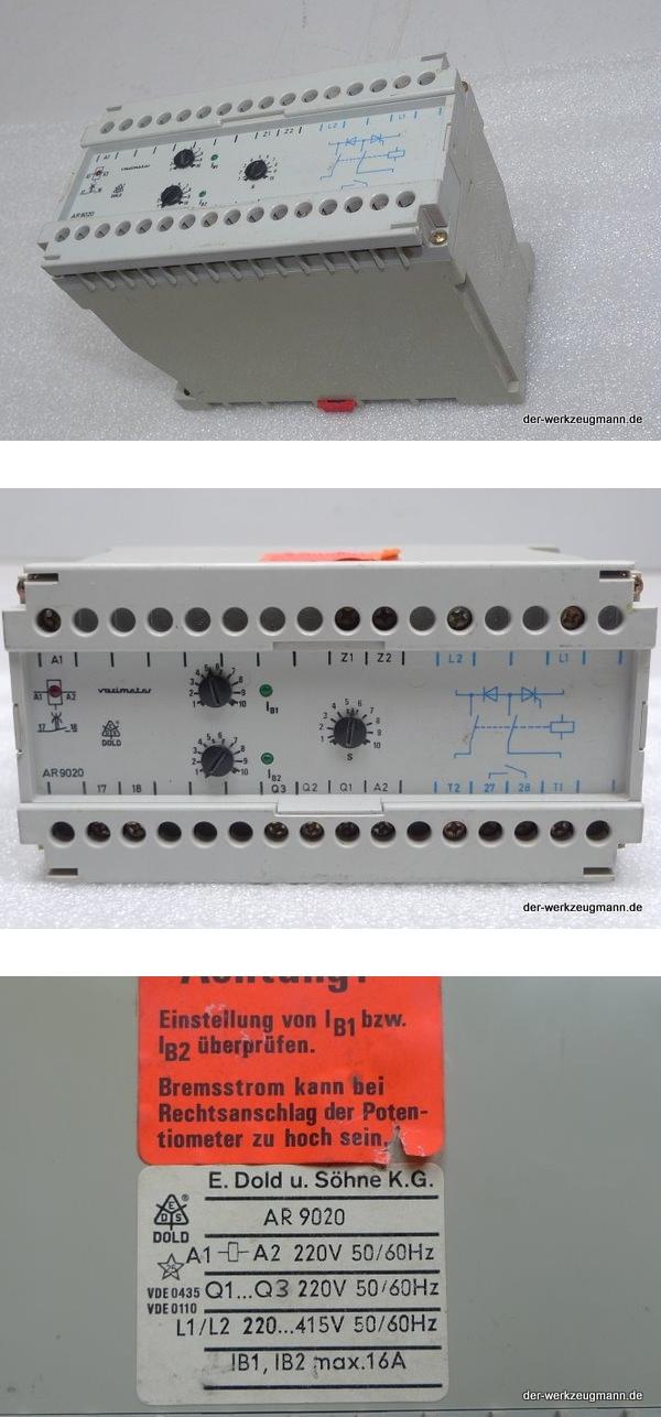 Dold varimeter AR 9020 Motorbremsgerät