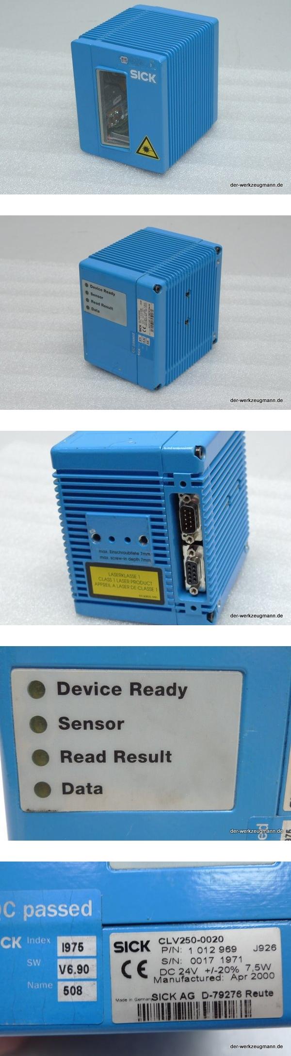 Sick CLV250-0020 Barcodescanner 1012969
