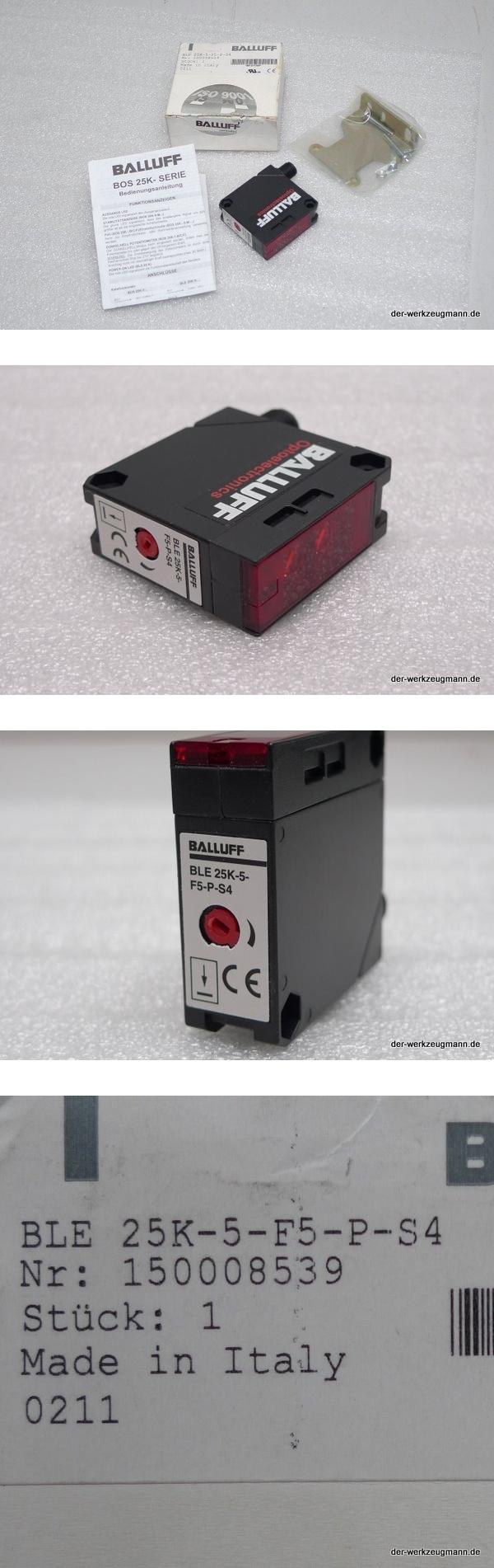 Balluff BLE 25K-5-F5-P-S4 Lichtschranke Empfänger