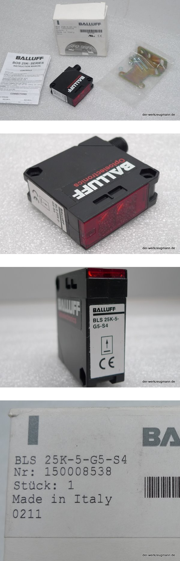 Balluff BLS 25K-5-G5-S4 Lichtschranke