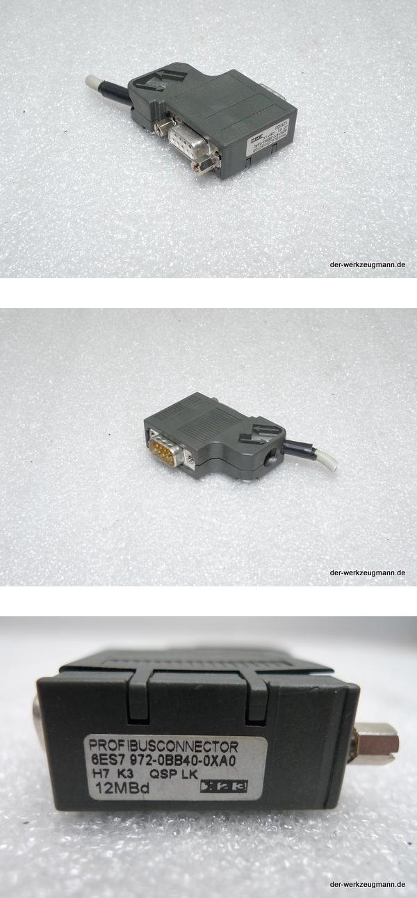 iemens SPS S7 Stecker 6ES7972-0BB40-0XA0 6ES7 972-0BB40-0XA0