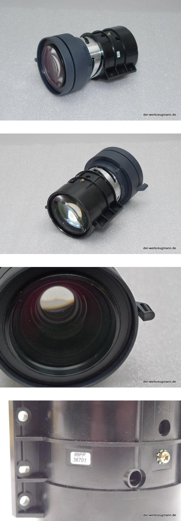 Beamer Objektiv Länge = 135mm D=85mm Bauart Sony VPLL
