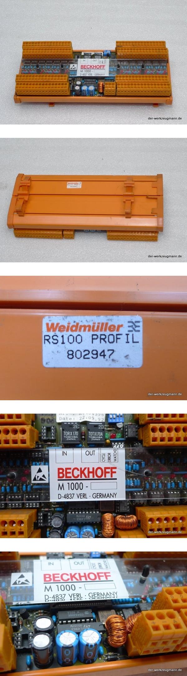 Weidmüller Beckhoff M1000