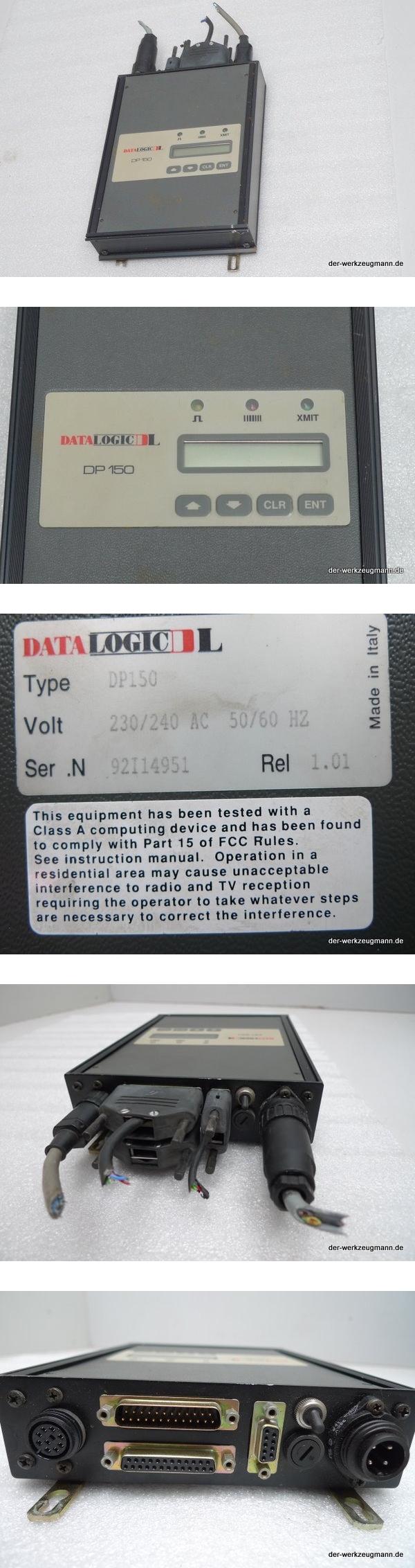 Datalogic DL DP 150 Barcode Decoder 230V Barcodescanner