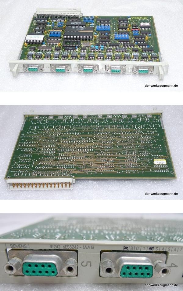 Siemens Simatic S5 SPS 6ES5242-1AA13 6ES5 242-1AA13