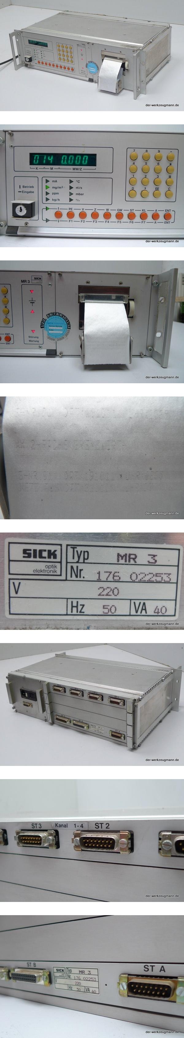 Sick MR-3 176 02253 Steuerung
