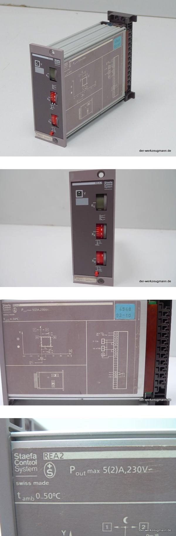 Landis Staefa Control REA-2 Regler Controller 4548 92-10