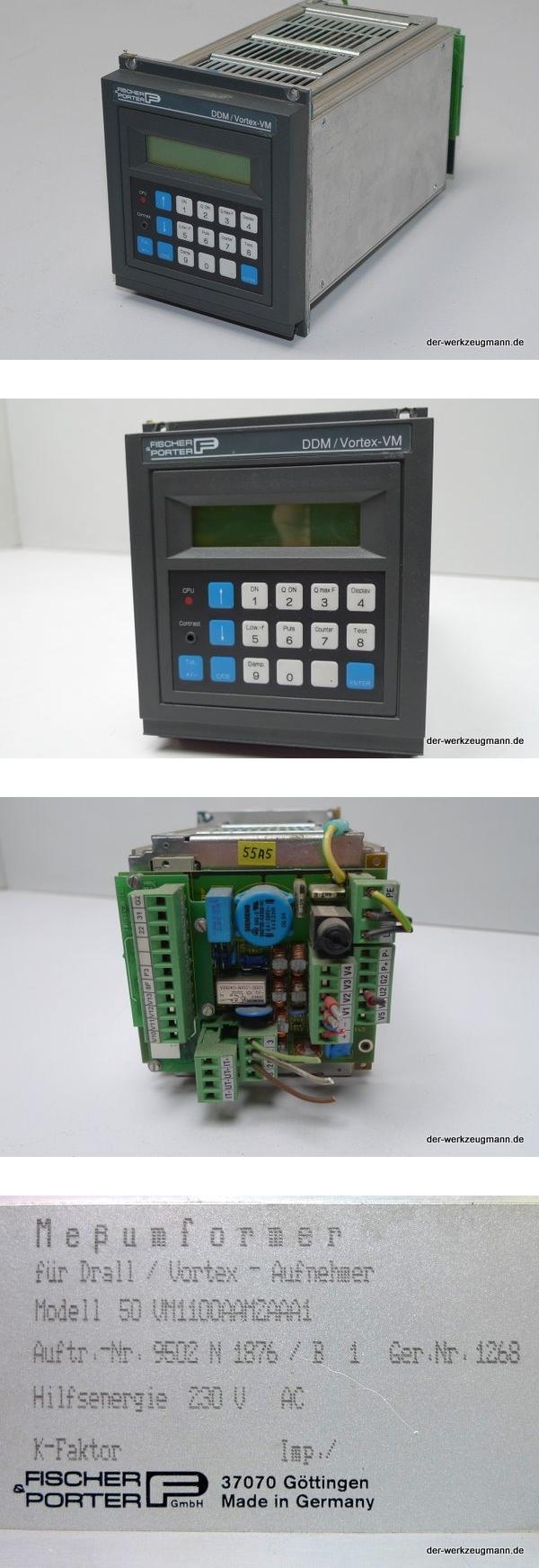 Bailey Fischer Porter DDM Vortex-VM Meßumformer 50VM1100AAM2AAA1