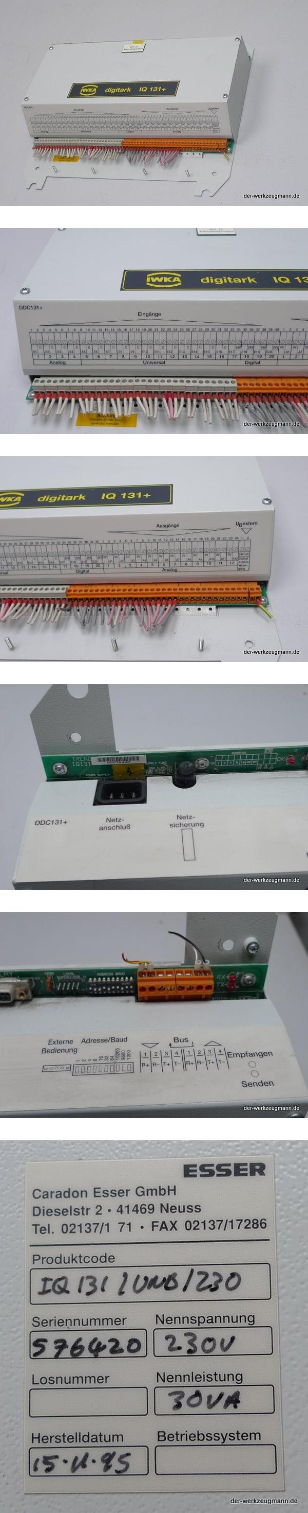 IWKA digitark Esser Trend IQ-131/UNB/230