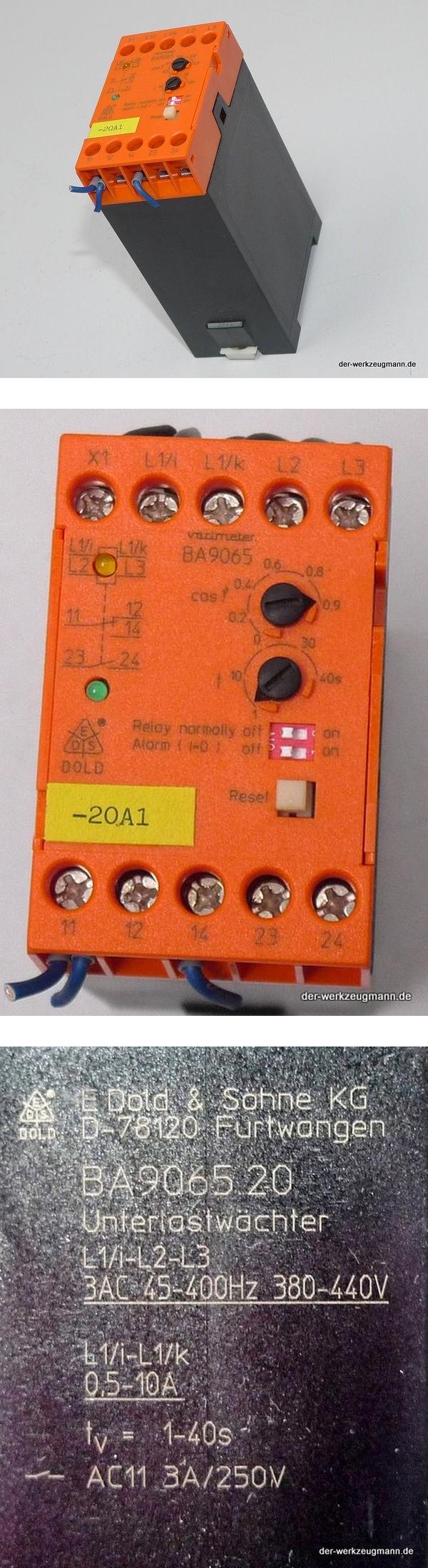 Dold varimeter BA9065.20 Unterlastwächter 0039727