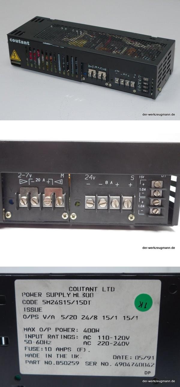 Coutant Stromversorgung Power Supply ML300