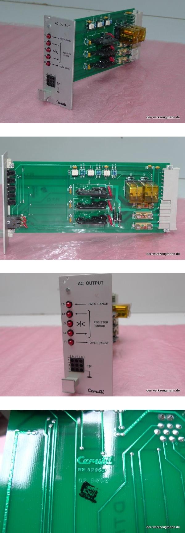 Cerutti RE-52060 AC Output