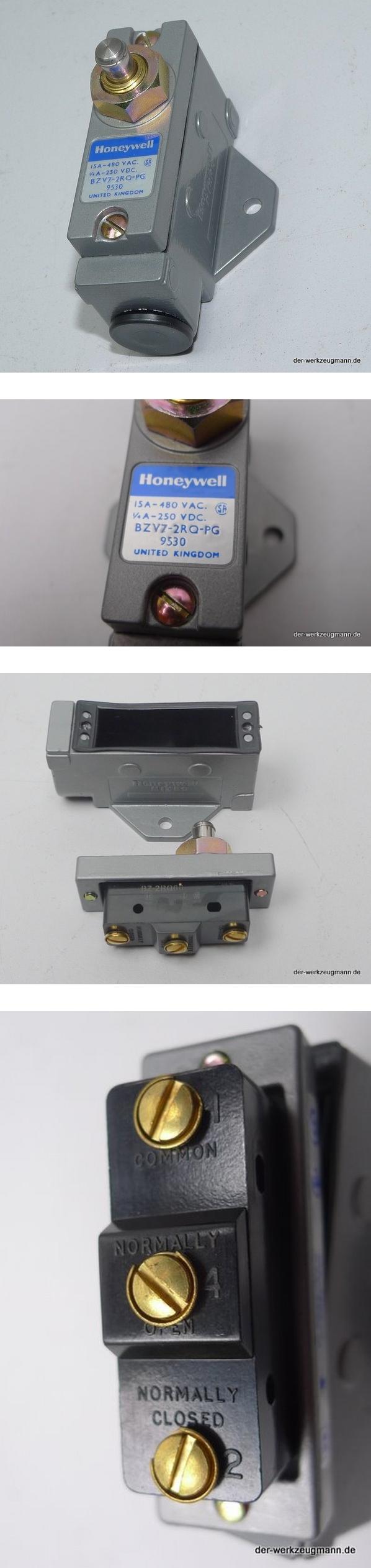Honeywell Microschalter Endschalter BZV7-2RQ-PG 9530