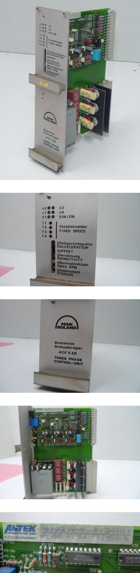 MAN Roland Antek Drehzahlregler ACF-5 AD