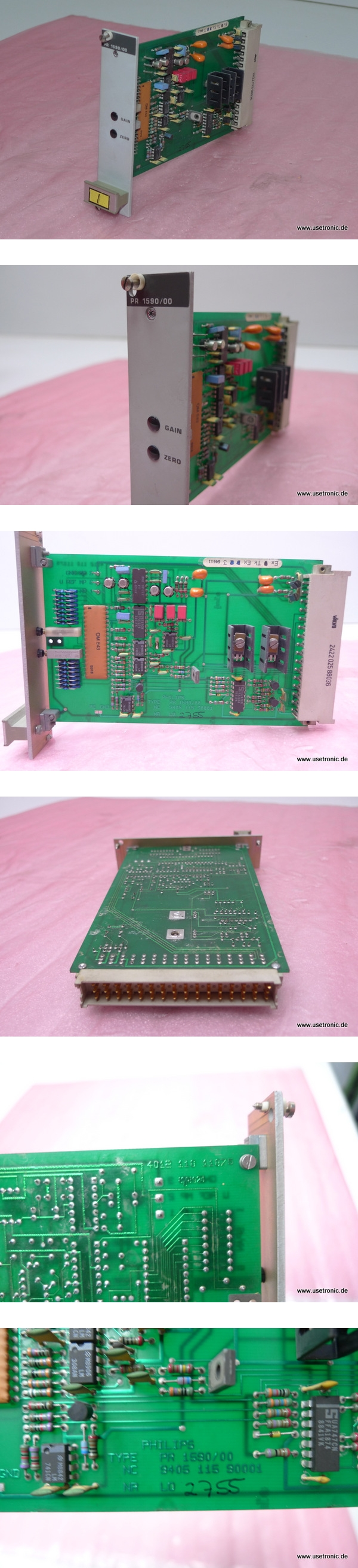 Einbaukarte Philips PR-1590/00 Prozessmodul 9405-115-90001