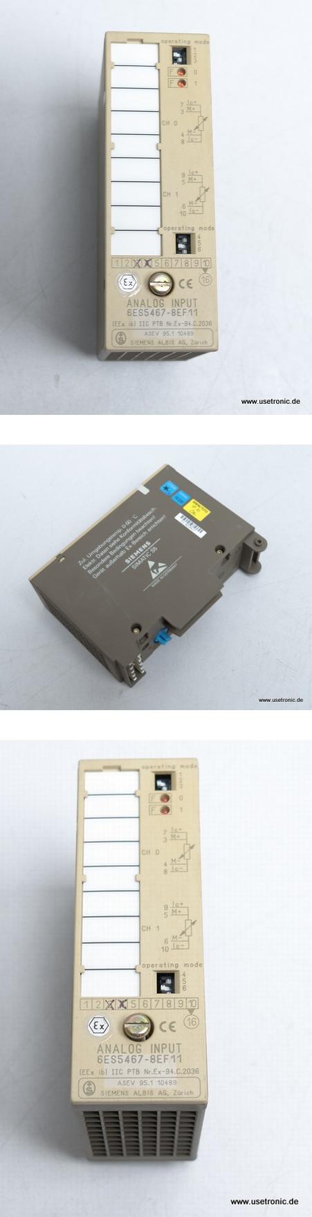 Siemens S5 SPS 6ES5 467-8EF11