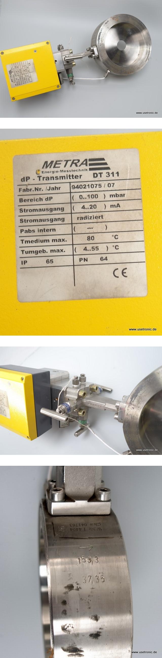 Danfoss orikon Durchflusszähler Metra DT-311
