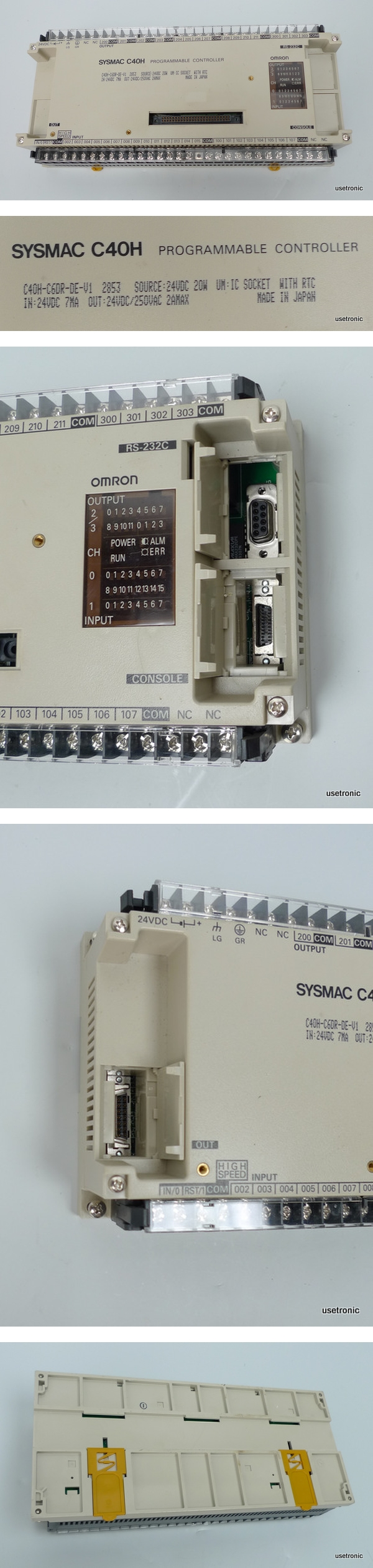 Omron Sysmac C40H-C6DR-DE-V1