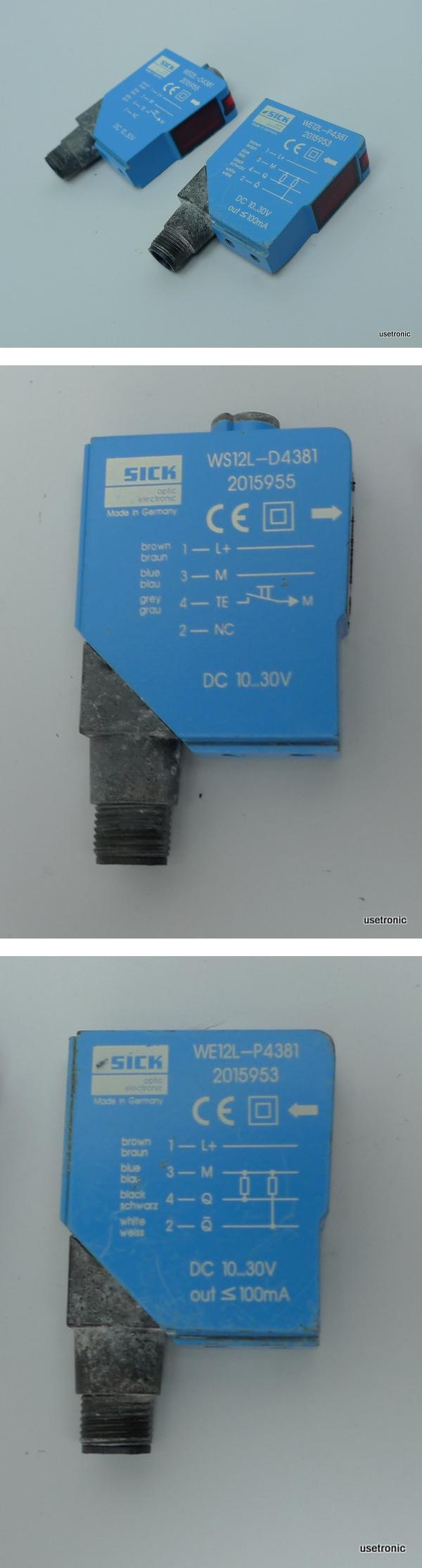 Sick Lichtschranke WS12L-D4381 WE12L-P4381