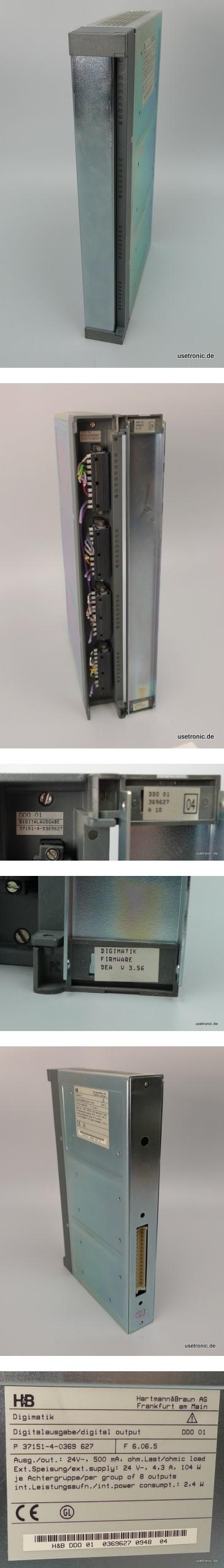 Hartmann Braun Digimatik Digital Out SPS P-37151-4-0369-627 DD0-01