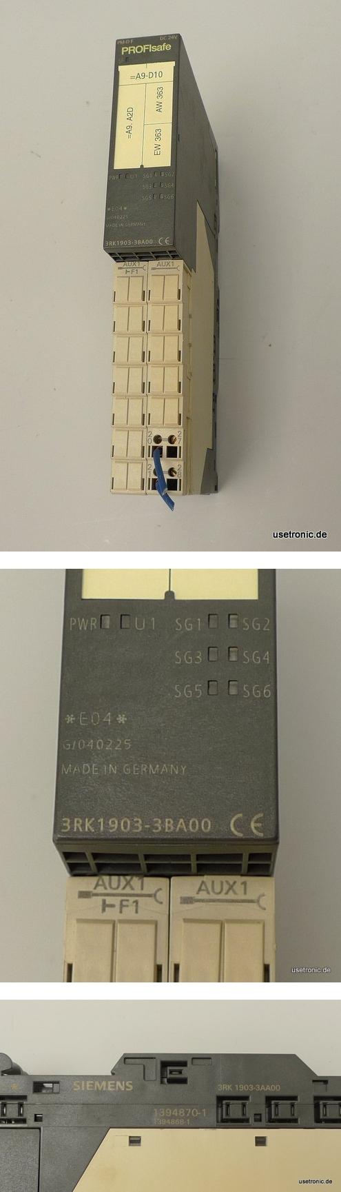 Siemens Profisafe 3RK1903-3BA00 3RK1903-3AA00 4011209547728